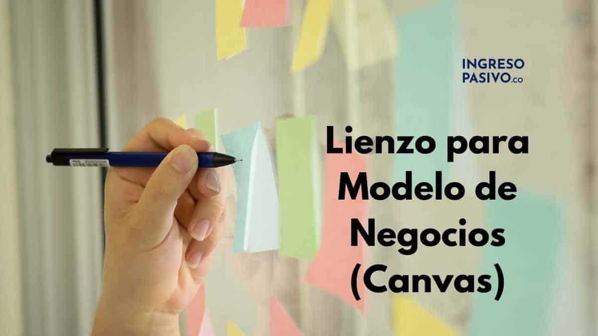 Modelo de Negocio Canvas (lienzo)