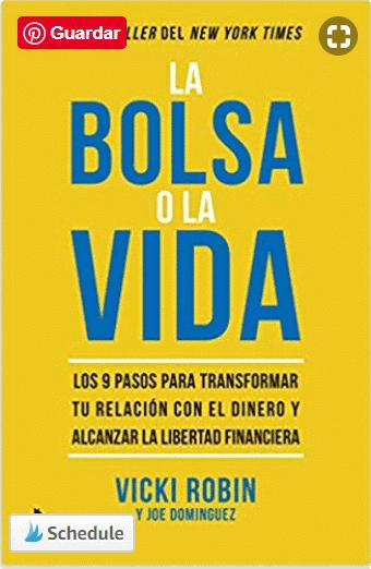 Libros de educación financiera La bolsa o la vida