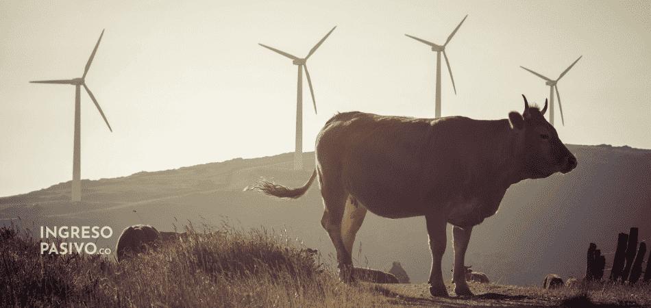 Ingresos Pasivos en Agricultura con Energía Eólica