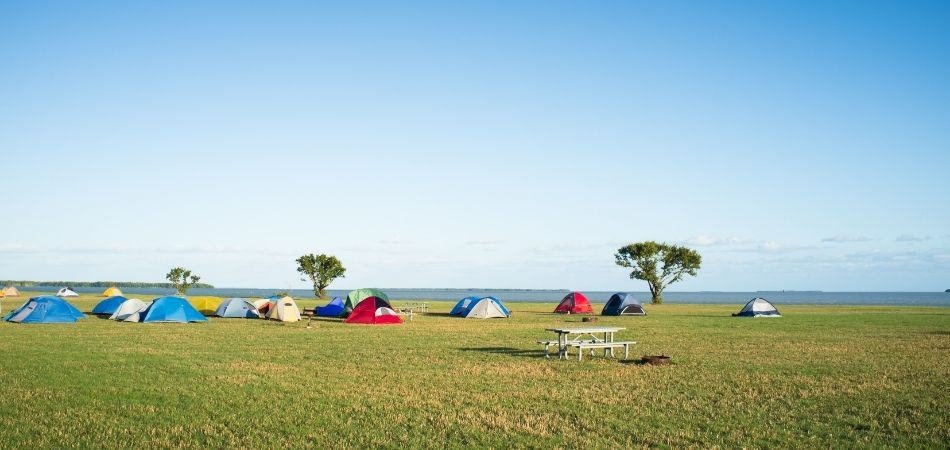 ganar dinero en un terreno con camping